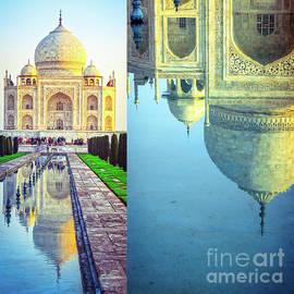 Taj Mahal - Collage by Neha Gupta