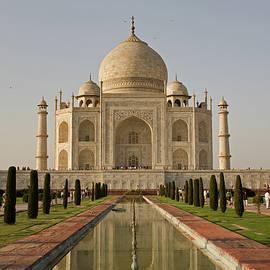 Taj Mahal Mausoleum In Agra by Aivar Mikko