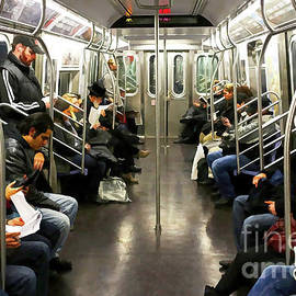 Doc Braham - Take a Ride on the NYC subway - Doc Braham - All Rights Reserved