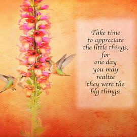 Take Time - Orange by Lynn Bauer