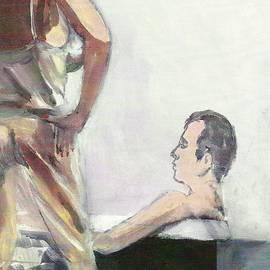 Harry  Weisburd - Taking A Bath