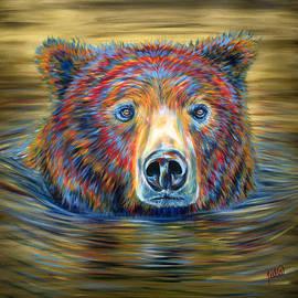 Teshia Art - Taking a Dip