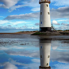 Talacre Lighthouse Reflection - Adrian Evans