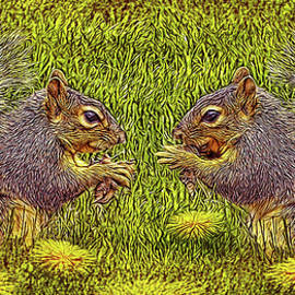 Joel Bruce Wallach - Tale Of Two Squirrels