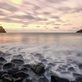 Derek Beattie - Talisker Bay Boulders at Sunset