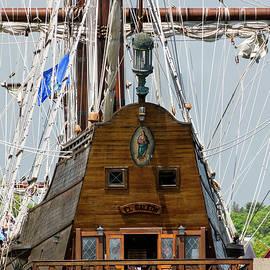Tall Ship El Galeon by Betty Denise