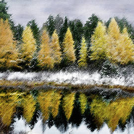 Tamarack Storm by Wayne King