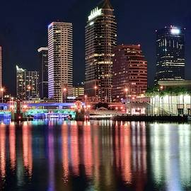 Skyline Photos of America - Tampa Bay Night