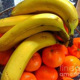 Tangerines and Bananas by Joan-Violet Stretch