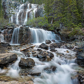 Tangle Falls middle by Robert L Moffat