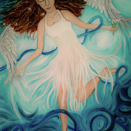 Tangled Up In Blue by Wendy Wunstell
