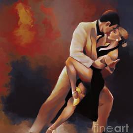 Gull G - Tango Couple Dance art09i