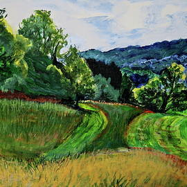 Tannersville Fields by Bonnie See