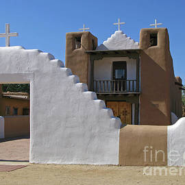 Nieves Nitta - Taos San Geronimo Church