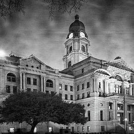 Joan Carroll - Tarrant County Courthouse Rebirth BW