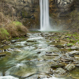 Taughannock Falls After the Thaw by Stephen Stookey