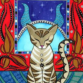 Taurus Cat Zodiac by Dora Hathazi Mendes