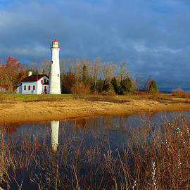 Pointe Aux Barques Lighthouse by Michael Rucker