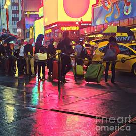 Miriam Danar - Taxi Line on a Saturday Night