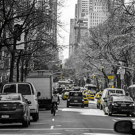 Taxis and Traffic Lights by Andrew Craig