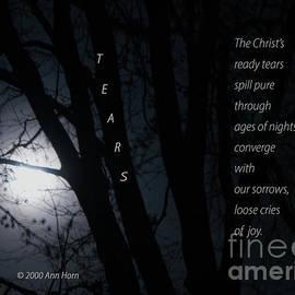 Tears by Ann Horn