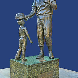 Allen Beatty - Ted Williams Statue - Fenway Park