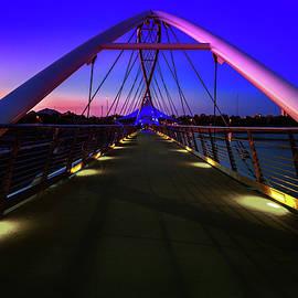 Tempe Town Lake Glow by Janet Ballard
