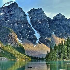 Frozen in Time Fine Art Photography - Ten Peaks from Waters Edge