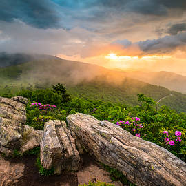 Tennessee Appalachian Mountains Sunset Scenic Landscape Photography by Dave Allen