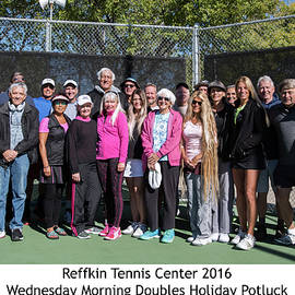 Tennis Potluck Group Shot by Dan McManus