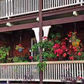 Terrace House with Flowers 2