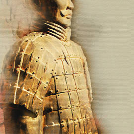 Terracotta Soldier by Paulette B Wright