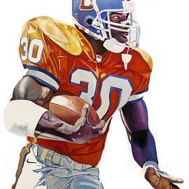 Michael Pattison - Terrell Davis - Denver Broncos