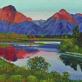 David Lloyd Glover -  Teton Lake