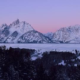 Michael Morse - Teton Moonset / Sunrise