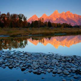 Tetons Reflected by Idaho Scenic Images Linda Lantzy