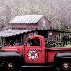 Debra and Dave Vanderlaan - Texaco Truck on a Smoky Mountain Farm in Soft Antique Tones
