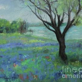 Texas Bluebonnet Trail by Robin Maria Pedrero