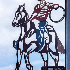Art Block Collections - Texas Cowboy Sign