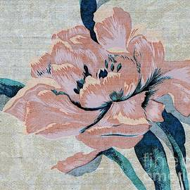 Textured Floral No.2 by Writermore Arts