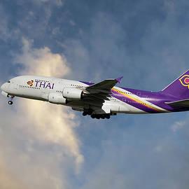 Thai Airways Airbus A380-841 - Nichola Denny