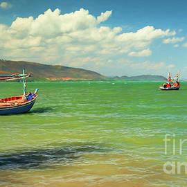 Thai Fishing Boats - Adrian Evans