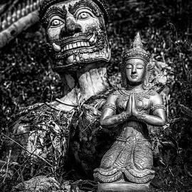 Thai Temple Statues - Adrian Evans