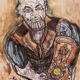 Thanos Avengers Infinity War by Geraldine Myszenski