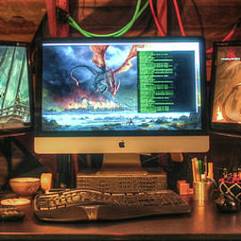 Thar Be Dragons In The Home Office by T Brian Jones