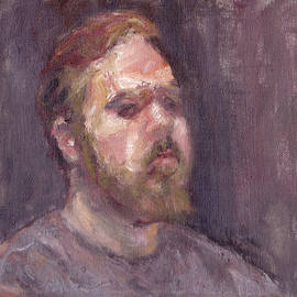 Quin Sweetman - That Looks - Contemporary Impressionist Portrait