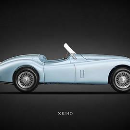 The 1956 XK140 - Mark Rogan