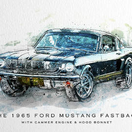The 1965 Ford Mustang Fastback II - Gary Bodnar