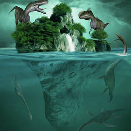 Surreal Photomanipulation - The Age of Dinosaurs