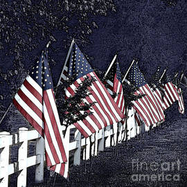 The American Flags by Sherry Hallemeier